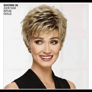 Paula Young  ABBY-L color 22/613S8 wig new